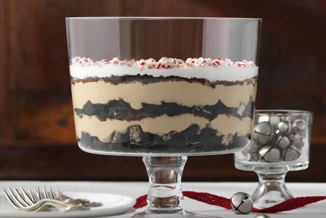 Festive Minty Mocha Trifle Image 1