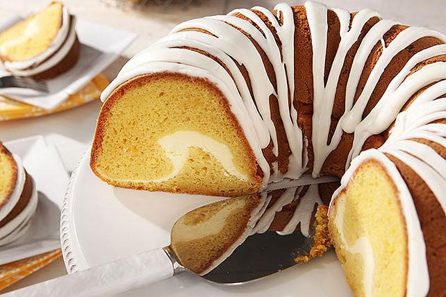 Pastel de limón con tunel de cheesecake Image 1