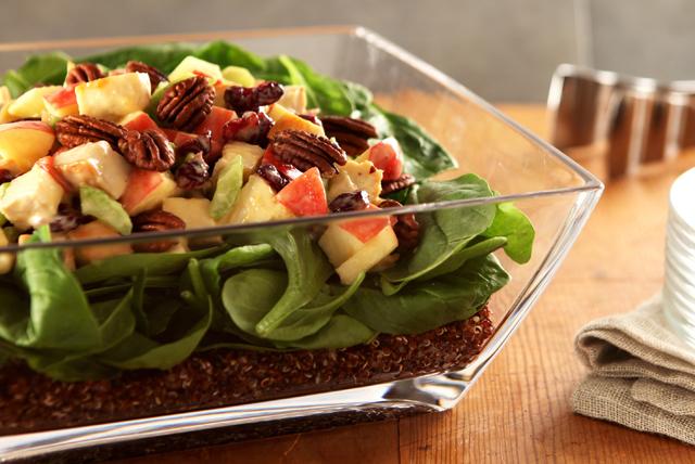 Salade de quinoa étagée au poulet Image 1