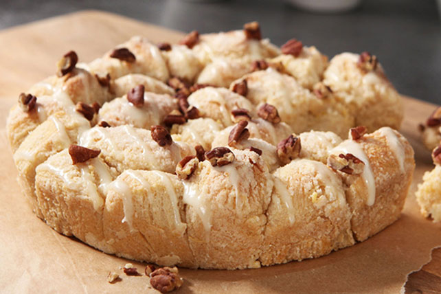 Sweet and Nutty Pull-Apart Coffee Cake Image 1