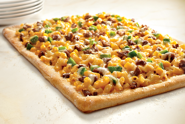 Deluxe Family Size Supreme Mac & Cheese Pizza Image 1