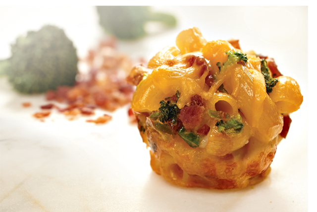 Deluxe Bacon-Broccoli Mac & Cheese Bites Image 1