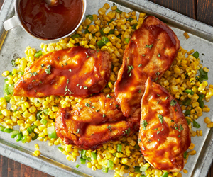 Backyard Barbecue Chicken Recipe