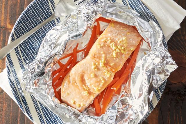 Ginger Sesame Salmon Image 1