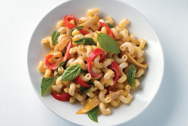 Ensalada de pasta con verduras asadas Image 1