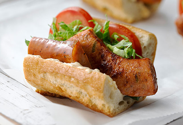 Sausage Po' Boy Recipe