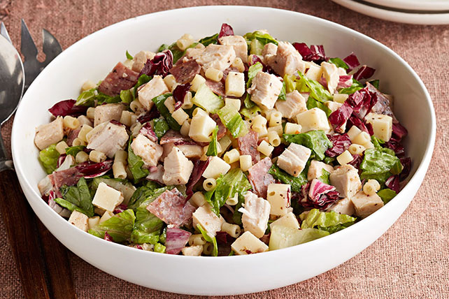 Easy Chopped Chicken Salad