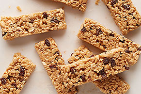 Double-Peanut Snack Bars