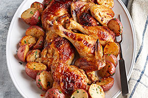 Chicken with Smoked Paprika and Potatoes