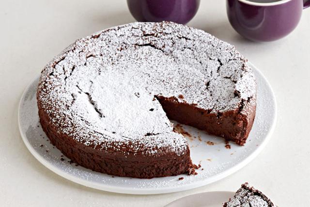 Pastel de chocolate con especias otoñales Image 1
