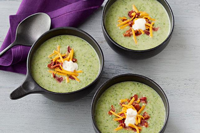 Cream of Broccoli, Bacon & Potato Soup Image 1