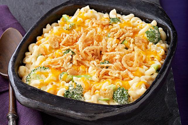 Macarrones con queso y brócoli al horno Image 1
