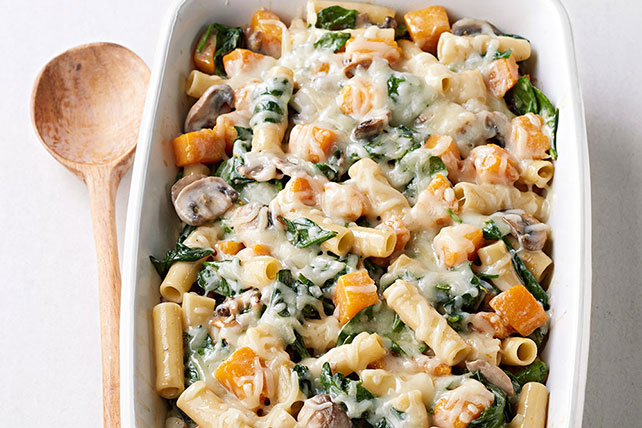 Baked Ziti with Squash and Mushrooms Image 1