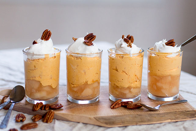Pumpkin-Apple Pie Parfaits