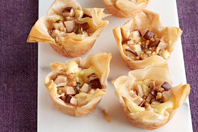 Pastelitos de cheesecake con pera y jengibre Image 1