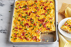 Bacon & Egg Squares
