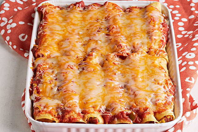 Enchilada Egg Bake