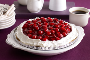 Cheesecake de chocolate y cerezas sin hornear