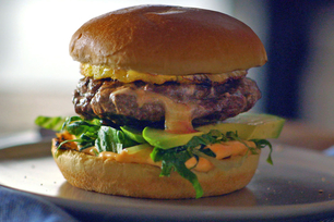 Spicy Habanero Cheeseburger