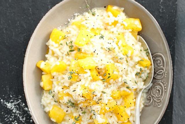 Arroz con calabaza y queso parmesano Image 1
