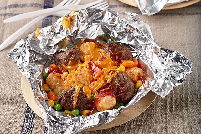 All-in-One Meatball and TATER TOTS Packets Image 1