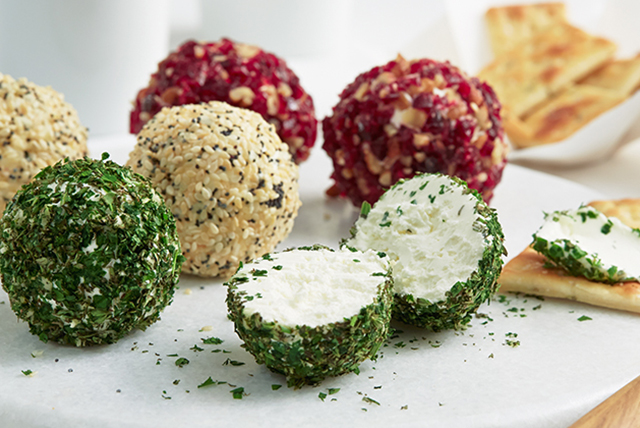Savory Mini Cheese Balls Image 1
