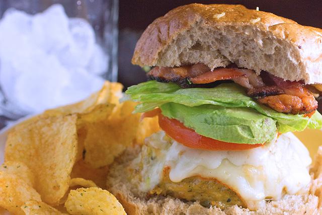 BLT Style Chicken Burger Recipe Image 1