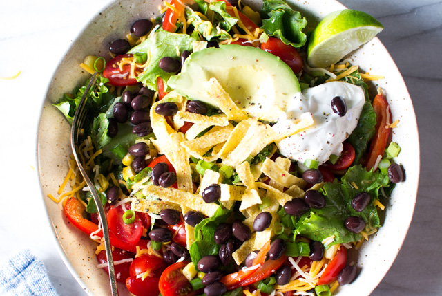 Vegetarian Taco Salad Image 1