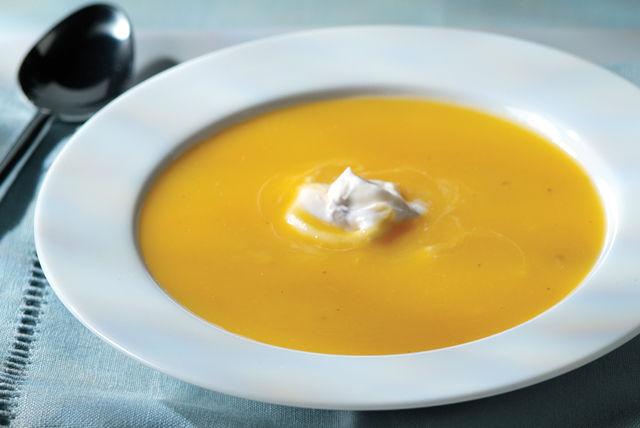 Sopa de manzana y calabaza butternut con especias Image 1