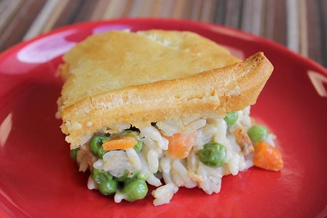 All American Chicken and Rice Pot Pie Image 1