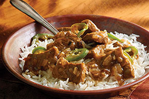 Bangladeshi Beef and Rice