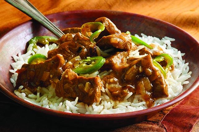 Bangladeshi Beef and Rice Image 1