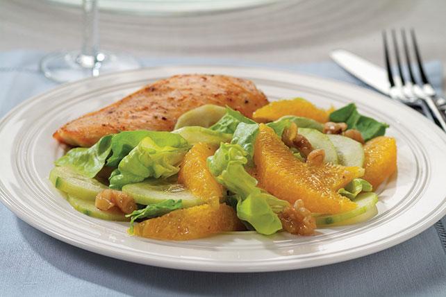 Ensalada de pepinos con naranja Image 1