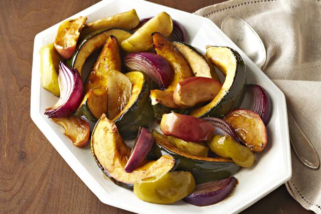 Calabaza, manzanas y cebollas horneadas Image 1