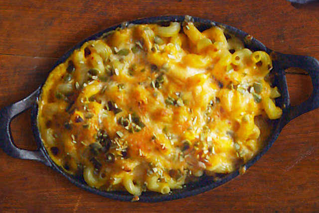 Macarrones con queso, calabaza y chipotle Image 1