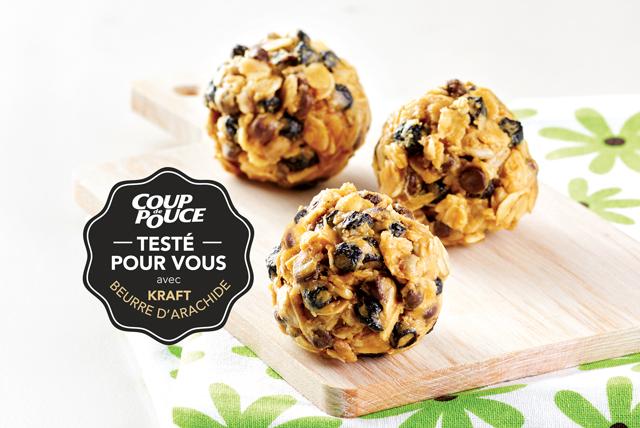 Bouchées délicieuses au beurre d'arachide Image 1