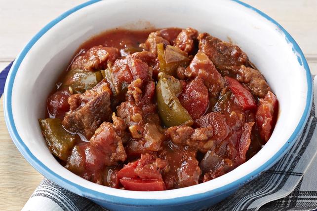 Chili au bifteck grillé et au chorizo Image 1
