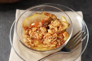 Croustade aux pommes et au caramel