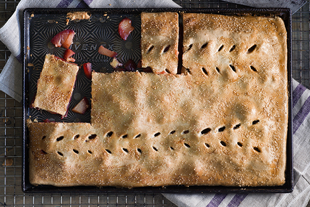 Plum Slab Pie Image 1