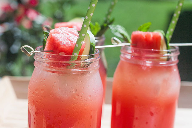Easy Watermelon Lemonade Image 1