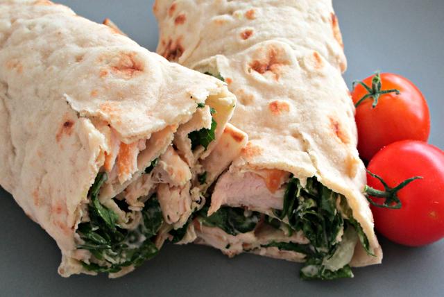 Grilled Chicken Caesar Wrap Image 1