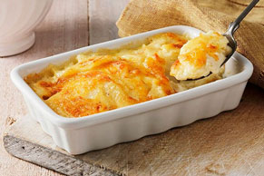 Cheddar Cheesy Potatoes au Gratin
