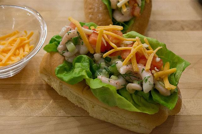 Sandwichs aux crevettes façon Saanich Image 1
