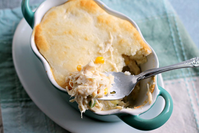 Individual Chicken Pot Pie Casseroles Image 1