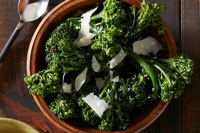 Roasted Broccolini with Garlic and Parmesan Image 1