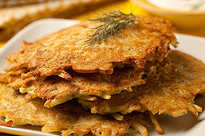 Breakfast-Time Potato Pancakes