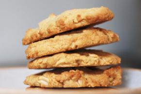 Biscuits à l'avoine et au beurre d'arachide