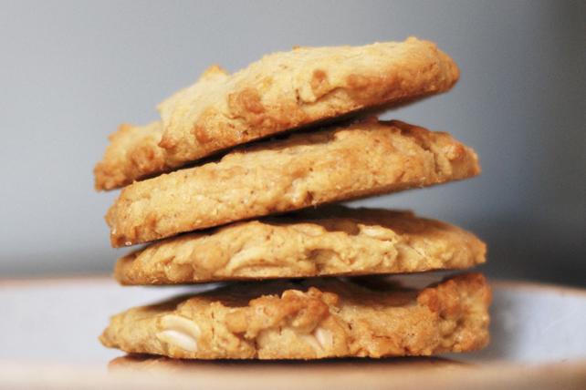 Biscuits à l'avoine et au beurre d'arachide Image 1