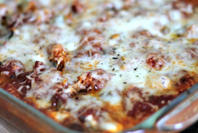 Spaghetti Squash Lasagna Image 1