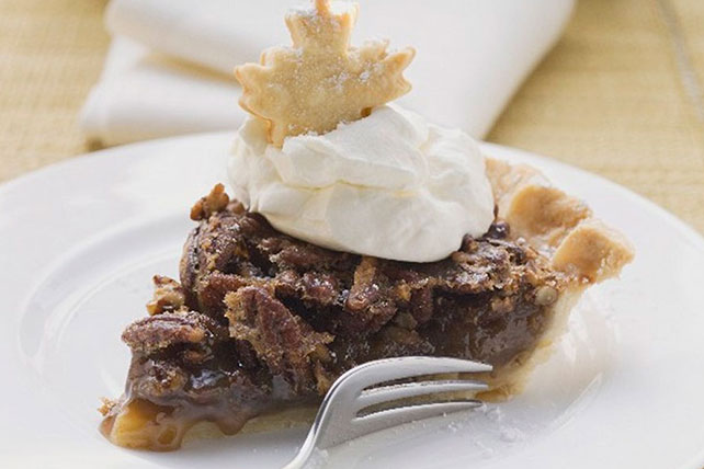 Pecan Pie with Cream Cheese Crust Image 1